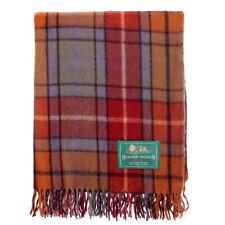 BORDER TWEEDS Knee Travel Rug Blanket Wool Tartan - Antique Buchanan