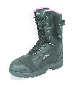 HMK Women's Size 6 Voyager Black Snowmobile Insulated Waterproof Snow Boot
