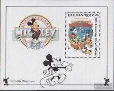 bhutan block181 unmounted mint / never hinged 1989 Walt-Disney-FIG Micky Maus