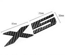 BMW X5 Real Carbon Fiber Rear Trunk  Decal Badge Emblem