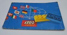LEGO bauideen 1 con catalogo prima edizione 1960 | Vintage Catalog