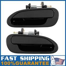 Pair For 1998-2002 HONDA ACCORD Exterior Rear Left LH Right RH Side Door Handle