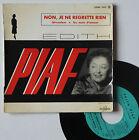 """EP Edith Piaf """"Non, je ne regrette rien"""""""