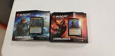 MTG Commander Legends Commander Deck Set OF 2 SEALED NEW