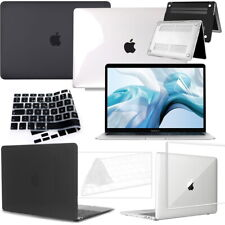 For Apple Air Pro Macbook 13 15 Laptop Hard Case+keyboard skin+Screen Protector