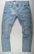 G-STAR RAW, Elwood 5620 3D Tapered Jeans, W36 L34 Jeanshose Bleached