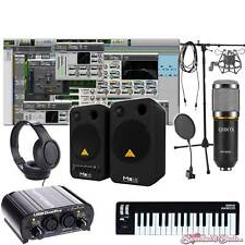 Home Recording Bundle Studio Package Midi 32 Behringer Art Software