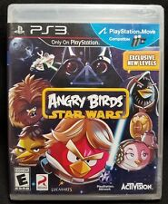 ANGRY BIRDS STAR WARS PS3 Playstation 3 Video Game BRAND NEW!