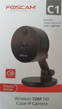 Foscam C1 HD Cube IP Netzwerkkamera Nachtsicht Blickwinkel <100° P2P QR Code OVP