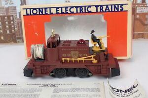 Lionel O Gauge No.8379 Pennsylvania Railroad Motorized Fire Car In The Box