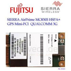 SIERRA AirPrime MC8305 HSPA+ GPS Mini-PCI QUALCOMM 3G Fujitsu Lifebook