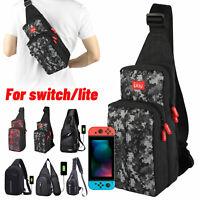 Men Shoulder Bag Carrying Case Storage Travel Backpack for Nintendo Switch/ Lite