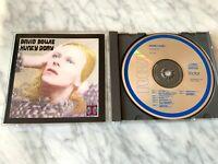 David Bowie Hunky Dory CD MADE IN JAPAN ORIGINAL RCA PCD1-4623 RARE! Target Era!