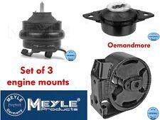 SET OF 3 MEYLE ENGINE & GEARBOX MOUNTS GOLF MK2 84-92 1.6 1.8 INC 1.8 GTI 8V