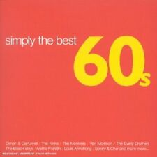 Simply The Best 60'S Album 2 CD Set Sealed ! New !