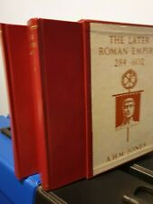 A.H.M.Jones the later roman empire 284-602 -two volume books