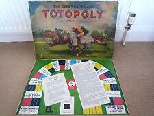 VINTAGE WADDINGTONS 1949 Totopoly GRANDE CORSA BOARD GAME