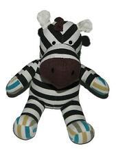 "Circo Multi Colored Striped Zebra Plush Stuffed Animal 10"""