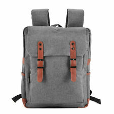 Unbranded Canvas Bags for Men with Laptop Sleeve/Protection