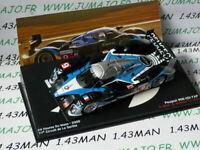 24H11 1/43 IXO Altaya Passion vitesse GT : PEUGEOT 908 HDI FAP 24 H Mans 2009