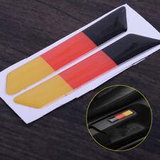 3D Car Seat Lift Handle German Flag Color Sticker for Volkswagen VW Golf 2006-12