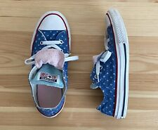 CONVERSE All Star Blue Star Chucks Sneakers Shoes Size 2 Youth