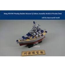Meng WB-004 Warship Builder Missouri Q Edition Assembly Model & Wooden Deck
