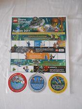 Lego Store Newsletter 8/11
