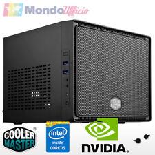 PC Computer Micro Mini Itx Intel i5 7400 3,00 Ghz - Ram 8 GB - HD 1 TB - WI-FI