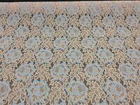 Hardy'sTextile Nylon/Cotton/Poly/Rayon Lace Fabric DIY Bridalwear SkirtTop(7825)