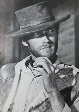 """Kunstdruck """"Clint Eastwood"""" tolle Größe Schwarz/Weiß"""