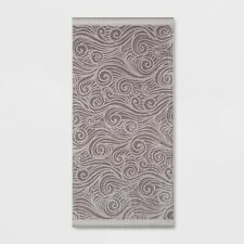 XL Wave Beach Towel - Sun Squad Gray 72 x 36 in