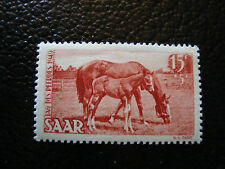 SARRE(allemagne) - timbre - yt n° 253 n* (A6) stamp germany