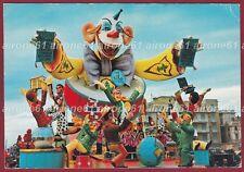 LUCCA VIAREGGIO 58 CARNEVALE Cartolina viaggiata 1972
