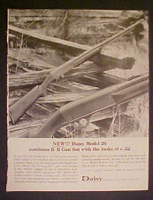 1964 Daisy BB Gun Model 26 Rifle~Looks like 22~Boys Kids Toy Christmas Print Ad
