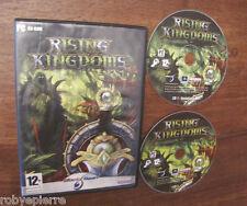Videogioco pc cd rom rising kingdoms black bean haemimont games 2002 2005 vendo