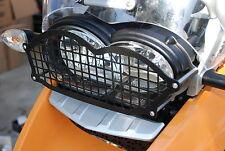 BMW R1200GS/ADV 2006/12Headlight Protector Guards Steel plus a Clear Lexan Lens