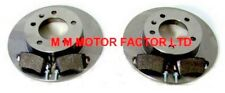 FOR RENAULT MASTER 1.9 2.2 2.5 2.8 2000-2010 REAR BRAKE DISCS & PADS FWD ONLY