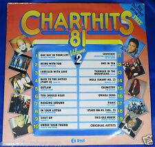 "K-tel CHART HITS 81 Vol 2 - VARIOUS ARTISTS 12"" Vinyl LP Record NE1142   VG+/VG+"