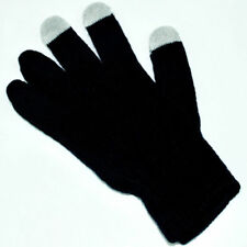 Soft Winter Men Women Touch Screen Gloves Texting Capacitive Smartphone Black