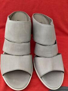 PAUL GREEN LEATHER UPPER SHOES HEELS 9 CM SIZE 7.5 MADE IN AUSTRIA  COMFY AS NEW