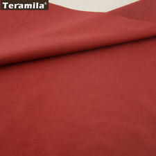 teramila Noble Rose Solid Red Color 100% Cotton Fabric Quilting Sewing 50x160cm