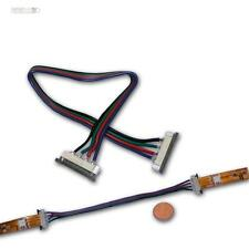 5x Schnellverbinder 4polig für SMD LED Strip 15cm Kabel