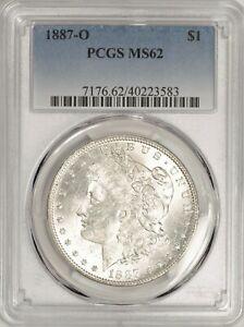 1887-O Morgan Dollar PCGS MS62 Nice Luster! #BXG8