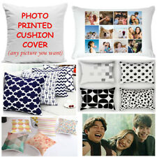 Personalised Cushion Pillow Case Cover Collage Custom Image Photo Wholesale Gift