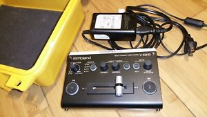 ROLAND V-02HD 2 Channel HDMI Live Video Switcher Mixer HD with Built-in Scaler