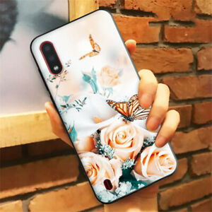 SAMSUNG GALAXY A22 A32 A42 A52 S10 S20 (5G) MOBILE PHONE CASE BUTTERFLY FLOWERS