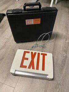 B&R Innovations Porta-Exit Combo Unit (Exit Sign)