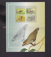 2013 Pardalotes Birds Australia Stamp set in folder