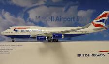 Hogan Wings 1:200 boeing 747-400 de british airways G-bnlt + Herpa Wings catálogo
